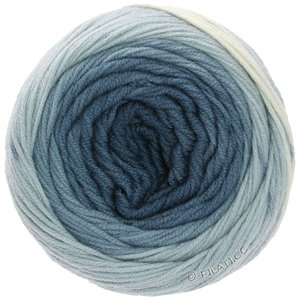 Lana Grossa COOL WOOL Big 1:1 | 5008-ecru/svjetloplav/sivo plava/farmerke/mornarica